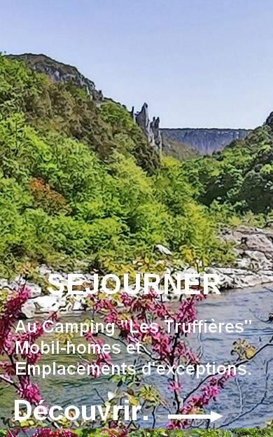 Staying in Camping Ardeche