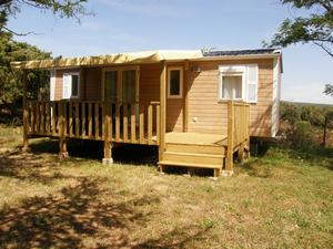 location mobile home climatisé en ardeche